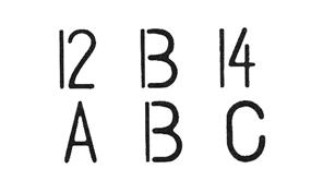 図2 前後の情報から変化する例